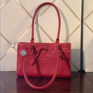 Dooney & Bourke red satchel